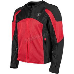 Speed and Strength Red/Black Midnight Express Mesh Jacket - 1101-0201-0955