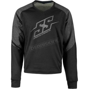 Speed and Strength Black Critical Mass Reinforced Moto Shirt - 1109-0900-0057
