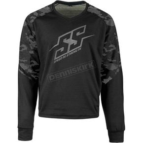 Speed and Strength Urban Camo Critical Mass Reinforced Moto Shirt - 1109-0900-4653