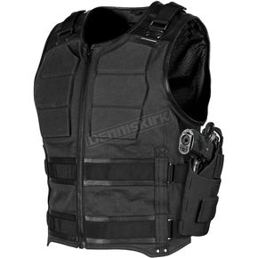 Speed and Strength Black True Grit Armored Vestily Name - 1114-0501-0058