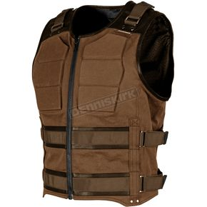 Speed and Strength Brown True Grit Armored Vest - 1114-0501-0157