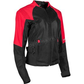 Speed and Strength Women's Red/Black Sinfully Sweet Mesh Jacket - 1101-1202-0957