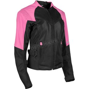 Speed and Strength Women's Pink/Black Sinfully Sweet Mesh Jacket - 1101-1202-0754