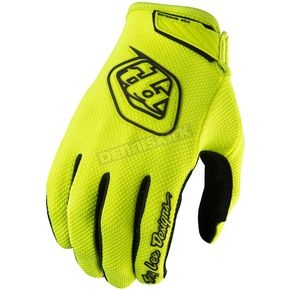 Troy Lee Designs Youth Flo Yellow Air Gloves - 406003554