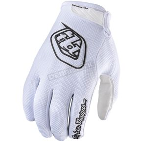 Troy Lee Designs White Air Gloves - 404003116