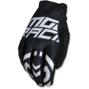 Moose Black/White MX2 Gloves - 3330-4529