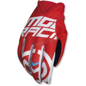 Moose Red/White MX2 Gloves - 3330-4530