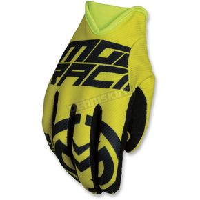 Moose Hi-Viz/Black MX2 Gloves - 3330-4556