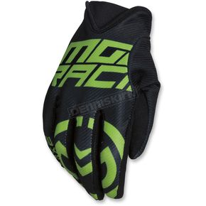 Moose Black/Green MX2 Gloves - 3330-4569