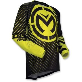 Moose Youth Black/Hi-Viz Qualifier Jersey - 2912-1590