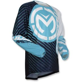 Moose Blue/White Qualifier Jersey - 2910-4476