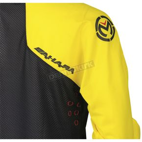 Moose Yellow/Black Sahara Jersey - 2910-4537