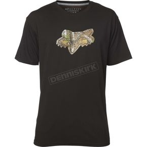 Fox Black Realtree Tech T-Shirt - 19487-001-XL