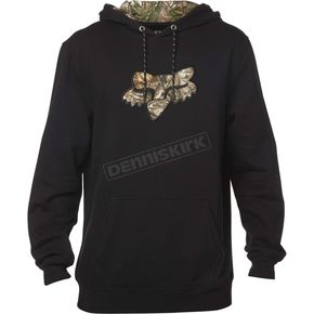 Fox Black Realtree Hoody - 19490-001-L