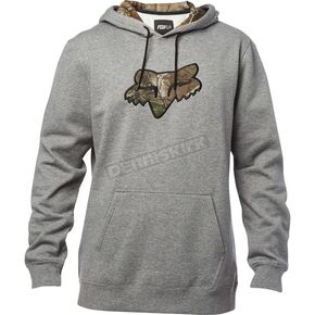 Fox Heather Graphite Realtree Hoody - 19490-185-S