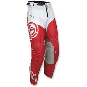 Moose Red/White Sahara Pants - 2901-6596