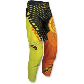 Moose Orange/Hi-Viz Qualifier Pants - 2901-6735