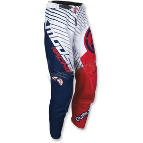 Moose Youth Red/White/Blue Qualifier Pants - 2903-1595