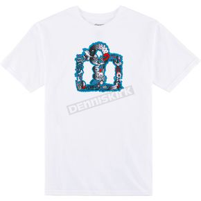 Icon Men's White  Guthrie T-Shirt - 3030-15283