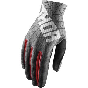 Thor Black/Red Void Vawn Gloves - 3330-4699