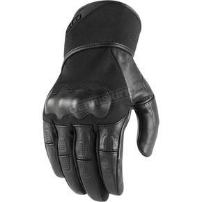 Icon Men's Black Tarmac Gloves - 3301-3061