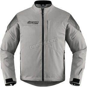 Icon Men's Gray Tarmac Jacket  - 2820-4034