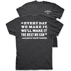 Jack Daniels Charcoal Gray We Can T-Shirt - 15261491JD-79-L