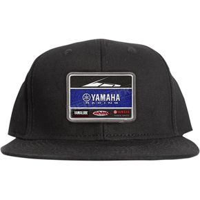 Factory Effex Black Yamaha Racing Team Hat - 20-86204