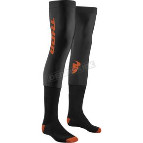 Black/Red Orange Comp Socks