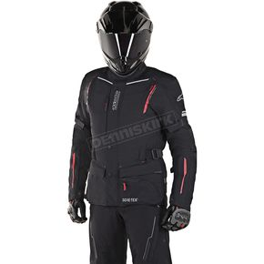 Alpinestars Black/Red Guayana Gore-Tex Jacket - 3602518-13-S