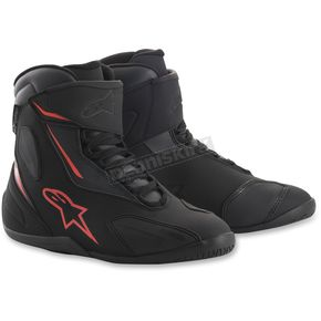 Alpinestars Black/Anthracite/Red Fastback 2 Drystar Shoes - 2510018103614