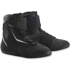 Alpinestars Black/Black Fastback 2 Drystar Shoes - 2510018110095