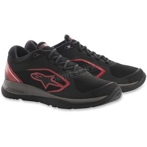 Alpinestars Black/Red Alloy Shoes - 265401813-10.5