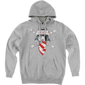 Heather Grey Ronnie Raider Hoody