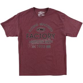 Burgundy Tracks T-Shirt