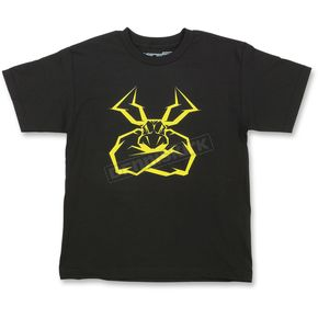 Moose Youth Black Agroid T-Shirt - 3032-2571