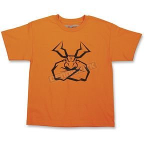 Moose Youth Orange Agroid T-Shirt - 3032-2576