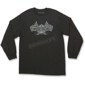 Moose Black Podium Long-Sleeve T-Shirt - 3030-15916