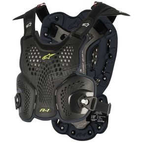Alpinestars Black A-1 Roost Guard - 6700116-104-ML
