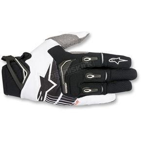 Alpinestars Black/White Techstar gloves - 3561018-12-MD