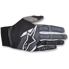 Alpinestars Black/Anthracite Aviator Gloves - 3560318-104-XL