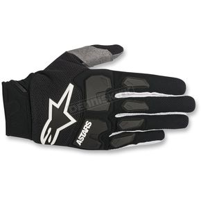 Alpinestars Black Racefend Gloves - 3563518-10-MD
