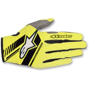 Alpinestars Fluo.Yellow/Black Neo Moto Gloves - 3565518-551-MD