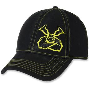 Moose Black Agroid Intensity Snapback Hat - 2501-2804