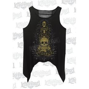 Lethal Threat Womens Here for the Party Tank Top - LA20516M