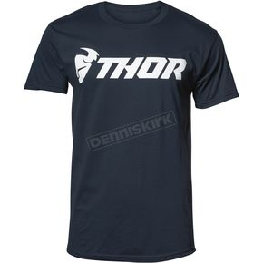 Thor Mens Navy Loud Tee Shirt - 3030-15984