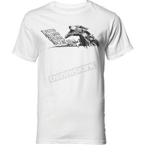Thor Mens White Skid Tee Shirt  - 3030-16029