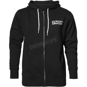 Thor Black Script Zip-Up Hooded Sweatshirt - 3050-4250
