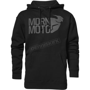 Thor Black Modern Pullover Hooded Sweatshirt - 3050-4271