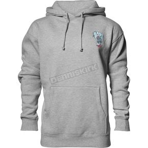 Thor Gray Heather Wide Open Pullover Hooded Sweatshirt - 3050-4290